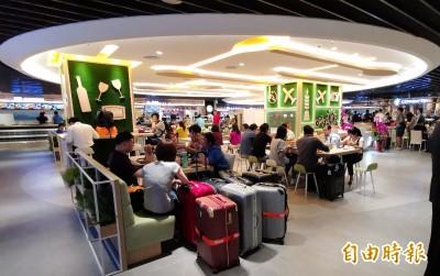 桃園機場二航廈地下美食街「美味旅圖」重新開幕