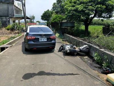 慘!巡邏車攔查不停 23歲移工騎車自撞橋墩身亡