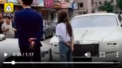 好野人!上午開賓利追撞 女子下午開勞斯萊斯又出車禍
