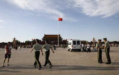 六四30這一天 北京戒備森嚴、禁外媒拍攝天安門升旗