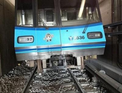 疑夜檢人員忘拆設備 橫濱地鐵首班車驚傳出軌意外