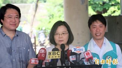 感謝蘇貞昌挺她連任 蔡英文:一起合作讓國家更好