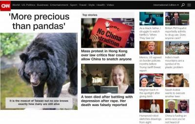 「比貓熊更珍貴」 台灣黑熊登上《CNN》頭條!
