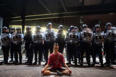 曾對抗服貿惡法 林飛帆對香港「反送中」說話了!