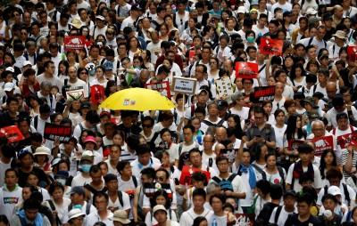 「絕食明志、接力抗暴」 香港藝文界發起絕食「反送中」