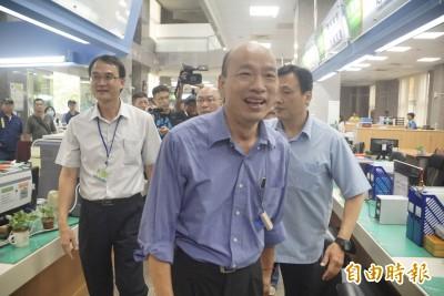 高雄港生集會反送中 韓國瑜避談後改口:會派代表關心
