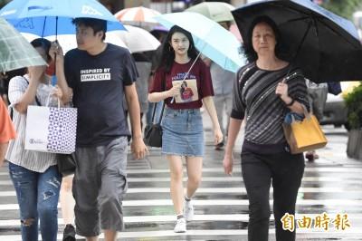 中南部9縣市豪大雨特報! 週五晚降雨才趨緩