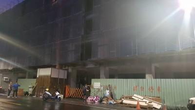 左營建築工人摔落地下一樓電梯井 送醫不治