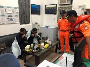 幸運!澎湖東吉海域2失蹤潛客 晚間西吉無人島平安尋獲
