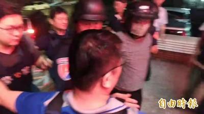 台南殺警案21小時破案 辦案員警流淚 民眾拳打凶嫌