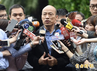 「庶民」財產申報曝光 韓國瑜夫婦存款4559萬、股票基金1404萬