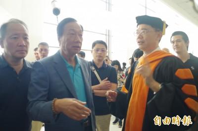 不參加「館長」遊行 郭台銘質疑「中奸」媒體操控民主動機