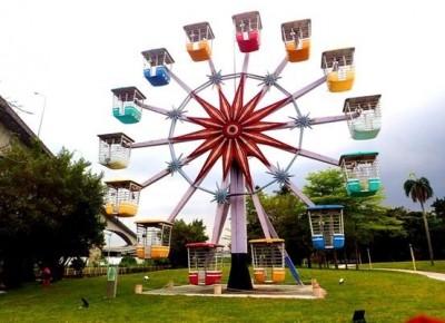 台北舊兒童樂園重新開放了! 保留摩天輪轉型景觀公園