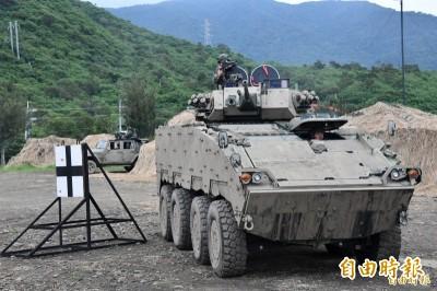 紅隼刺針雲豹接連進駐  博愛特區防衛戰力更強大