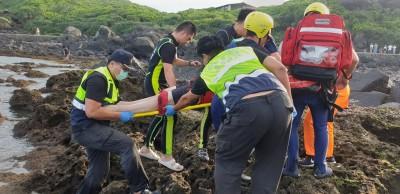 基隆大武崙、新北石門海岸皆傳溺水 2獲救1命危搶救中