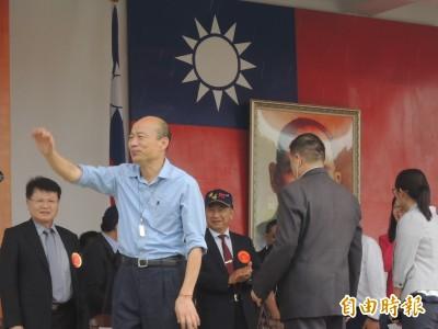 帥!親中韓市長握手 中將左手插口袋被讚爆