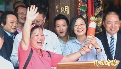 蔡英文:韓國瑜過去言行讓人有疑慮 須接受檢驗