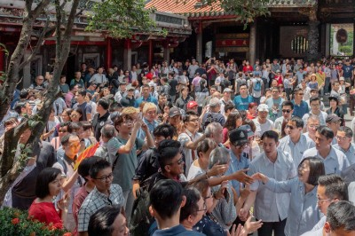 反送中》港客當面謝支持 蔡英文:台灣會撐住民主自由