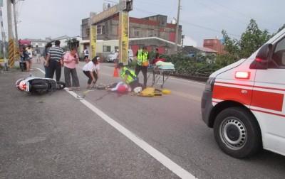 女子高中甫畢業騎機車摔倒亡 警疑肇事逃逸