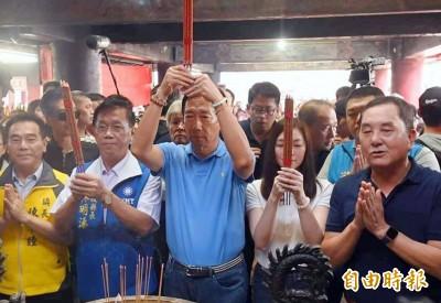 郭台銘也來訪 竹山紫南宮在地人口未減反增有「撇步」