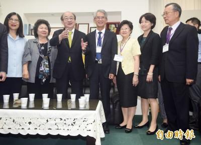 陳菊率大法官被提名人拜會立院  國民黨拒見