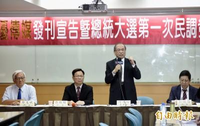 媒體民調: 明年大選「三角督」 柯動向左右蔡選情