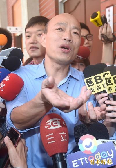 韓國瑜突襲闖立院 林濁水酸:他當選但沒當過