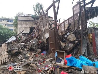四川深夜連震釀11死122傷 多處建物倒塌