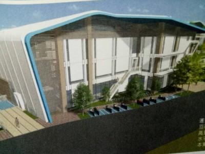 黃金地段!豐原國民運動中心綠建築設計  2023年完工營運