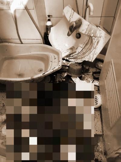 照鏡子雙手重壓洗手台破裂   10歲男童全身遭割傷送醫