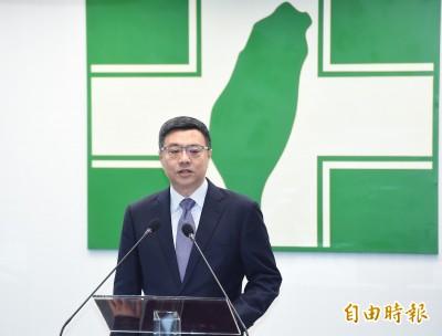 卓榮泰:「大戰略、大對話」兩支利箭 爭取選民信任