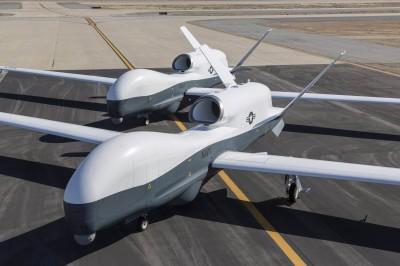 起火殞落畫面曝光!美軍證實1架無人機被伊朗擊落