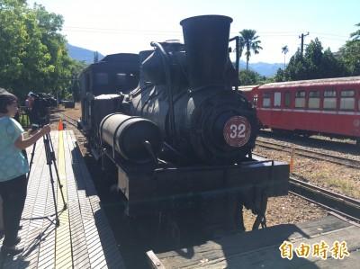 出發了!國寶級蒸汽火車頭回娘家 整裝後再返竹崎