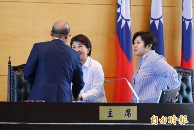 盧秀燕首次追加預算80.45億 市議會刪除8000萬