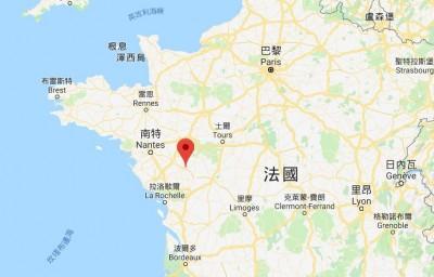 罕見!法國西部清晨規模5.1地震 民眾睡夢中驚醒