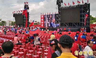 韓粉、攤販提前報到 韓國瑜台中造勢被批擾民