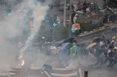 國際特赦組織:香港警方濫用武力 已違反國際法