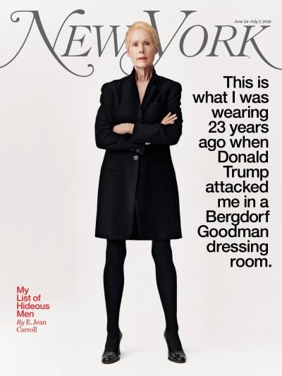 美國女作家自爆在更衣室被性侵 川普駁斥:從未見過她
