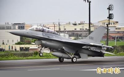 升級F-16V在歐洲有極大銷售潛力 台灣等著收權利金