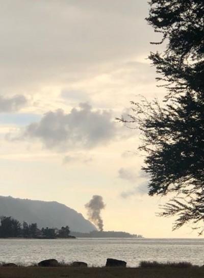 夏威夷民用飛機墜毀起火 機上9人全數罹難