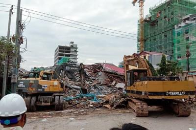 柬埔寨海灘勝地 中資施工大樓倒塌至少3死