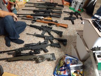 槍擊案頻傳》警政署祭鐵腕 全國同步掃黑、肅槍、打黑錢