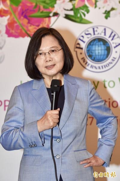 反紅媒遊行登凱道 總統:代表台灣社會的憂慮