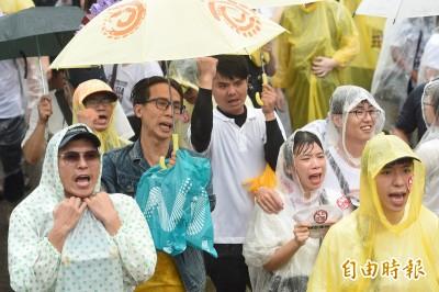 反親中媒體遊行發聲 NCC:將督導業者落實專業