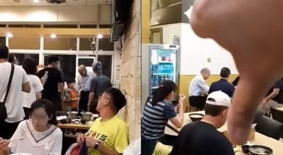 沒胃口了! 晚餐吃水餃遇到韓國瑜當場噓 他被推爆