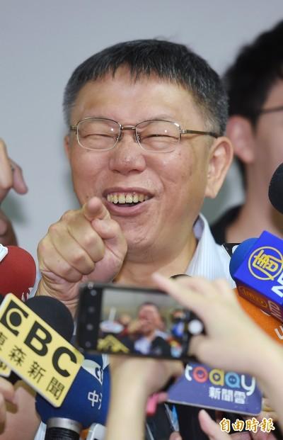 韓國瑜指官員做到肝硬化 柯P酸:喝酒太多才會