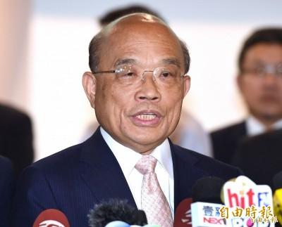 盧秀燕稱「政院沒給台中一毛錢」 蘇揆提這點反駁
