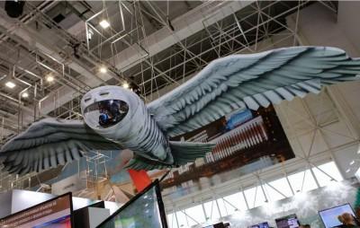 好大的貓頭鷹? 這是戰鬥民族「匿蹤」無人機