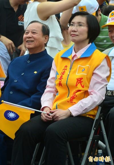 捲土重來? 選過副總統的徐欣瑩任妙天「副手」