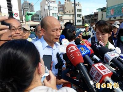 2民團發起罷韓連署 韓國瑜:「我尊重他們,民主的社會」